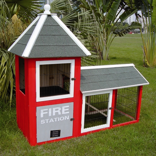 Garden Rabbit Hutch
